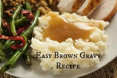 Easy brown gravy recipe: very good! followed recipe but used 2 beef bouillon cubes and thought it was a tad salty so I added ~1/4 cup water which made it perfect. Will use this recipe when I need gravy. Made 7/9/15