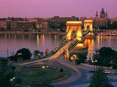 Budapest el cautivador Puente de las Cadenas - Hungría