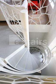 Laser cut stair infill
