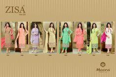 Zisa vol 29 designer ayesha takia salwar suit at wholesale price from surat  BRAND ZISA  NO. OF PIECES 8  AVERAGE PRICE 1195 RS  CATLOG PRICE 9560 + Shipping  FABRIC GEO