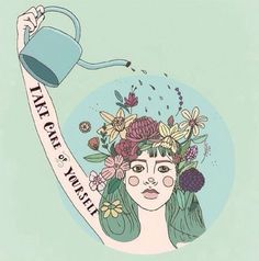 There's nothing more important than self-care and self-love. Even if all you did was get out of bed today. Now, does anyone have any good self-care tips they can share? Mac Miller, Take Care Of Yourself, Mantra, Self Help, Self Care, Inspire Me, Positive Quotes, Body Positive Art, Decir No