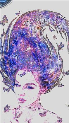 Saçlarında ki kelebeklerle büyüdün sen