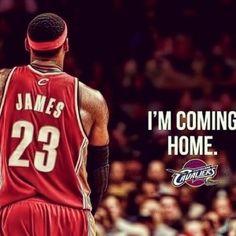 Lebron James: I'm COMING HOME