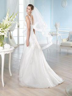 HALDEN / Wedding Dresses / Glamour 2014 Collection / San Patrick (back)