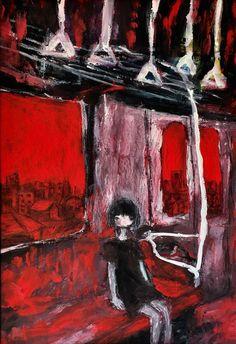 Scary Art, Weird Art, Creepy, Pretty Art, Cute Art, Art Sketches, Art Drawings, Arte Punk, Vent Art