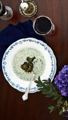 Vegetarian Food, Healthy Food, Healthy Recipes, Kale Soup, Soup Recipes, Nom Nom, Soups, Decorative Plates, Food And Drink