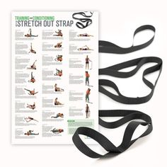 Stretch Out Strap Extra Long with Stretching Poster | Shop OPTP.com