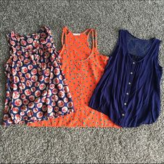 3 tank bundle Size medium. All in great condition Tops Tank Tops