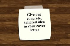 Resume Tip: Be Unexpectedly Generous in Your Cover Letter