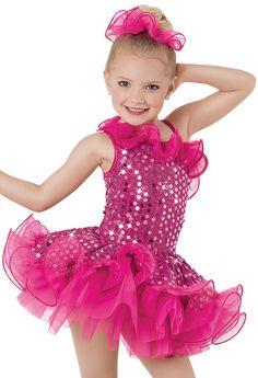 Weissman™ | Boucle Sequin Ruffle Dress