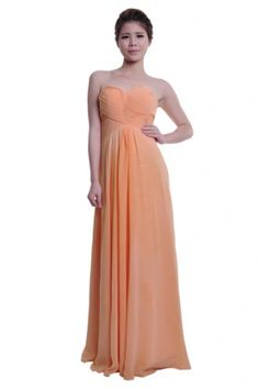 Moonar Chiffon Sweetheart A Line Prom Formal Gown Party Bridesmaid Wedding Dress - http://ocdinvestments.com/moonar-chiffon-sweetheart-a-line-prom-formal-gown-party-bridesmaid-wedding-dress/