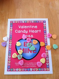 Creative Lesson Cafe: Valentine's Day Math Center Activity