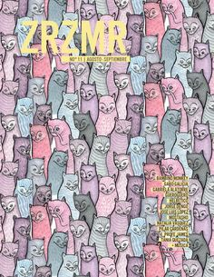 ZRZMR No. 11  Revista ZRZMR (Zarzamora) es una publicación bimestral digital independiente que abarca temas culturales, que sirve como plataforma para proyectos artísticos.