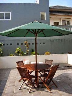Jati Furniture Minimalis: KURSI SANTAI PAYUNG