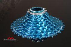 11-32 agogo X-Neo® Kassette, - 10 fach für Shimano, Sram blau.