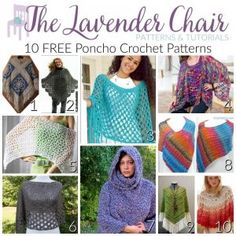 Cloud 9 Slippers Crochet Pattern - The Lavender Chair Crochet Poncho Patterns, Crochet Stitches, Knitting Patterns, Scarf Patterns, Free Crochet, Knit Crochet, Beach Crochet, Crochet Scarfs, Crochet Sweaters