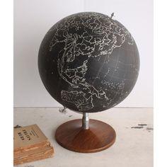 Image of Vintage French Minimal Globe