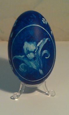 Etched Goose Egg lily