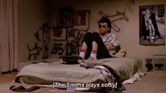 [The Smiths plays softly] — Duckie (Pretty in Pink) The Smiths, 80s Movies, Good Movies, Movie Tv, Series Quotes, Film Quotes, 80s Movie Quotes, Book Series, Movies Showing