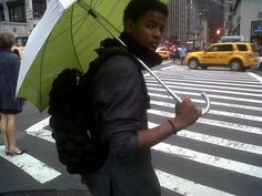 Carry that umbrella lol Trevor Jackson, Michael Jackson, Very Well, Interview, Lol, Fun
