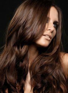 Love this hair colour<3 #ChocolateBrown