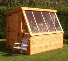 A Dutch Barn Wooden Garden Shed. here's the company that sells them  http://www.claytongarages.co.uk/outdoor-structures/potting-sheds