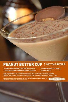 Peanut buttercup drink recipe