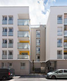 Le Kube - Villeurbanne (69)   © Ecliptique / Laurent Thion Multi Story Building, Alps