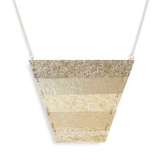 Strata Necklace Glitter now featured on Fab.