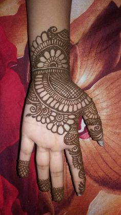 Simple Mehndi Designs For Front Hands Simple Mehndi Designs For Kids