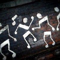 Music arte dance happy 59 ideas for 2019 Music Rock, Mr Brainwash, Street Art, Illustration, Art Plastique, Public Art, Graffiti Art, Music Graffiti, Music Notes