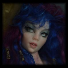 Moonstruck  by Candace Taylor of CBC STUDIO Sea Faerie mermaid OOAK Fantasy art doll