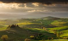 Belvedere in the light - This photo was shot during a research trip to Tuscany in April 2012. There is a photo workshop in Tuscany in May 2017 with space available.