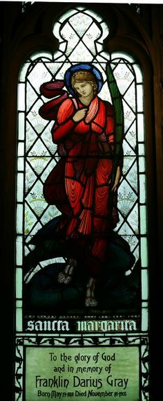 Second Presbyterian Church of Chicago | Sir Edward Burne-Jones, St. Margaret