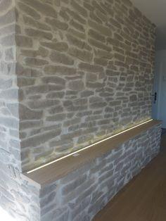 Stein Wandgestaltung Lajas Gris
