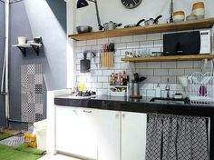 Model Motif Keramik Dapur Sederhana Sempit Kecil