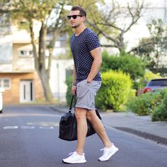 Beat the heat in style with our guide to summer fashion. Plan your Summer Wardrobe ➝ https://www.pinterest.com/damee1/boys-of-summer/ and find similar pins @damee1 // #SpringIsCalling #Summer #Shirt #Print #Menswear #Outfit #Shades #Sun #Streetwear #Sweatshirt #Hype #Hipster