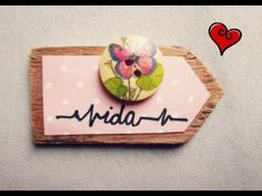 Some Scrapbook Embellishments Made From Scraps - YouTube