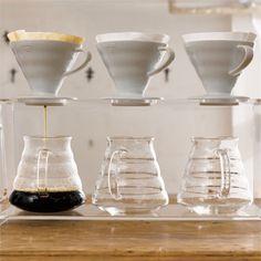 #Café con #conos filtrado manual melitta
