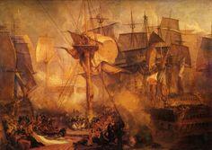 ターナー 1806-08 トラファルガーの戦闘・戦艦