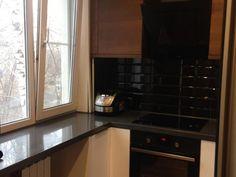 Чёрный кабанчик на фартуке в хрущевке Kitchen Cabinets, Home Decor, Interior Design, Home Interior Design, Dressers, Home Decoration, Decoration Home, Kitchen Cupboards, Interior Decorating