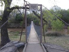 Wichita Falls Tx Suspension Footbridge