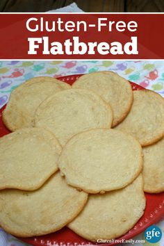 You are going to love adding these Gluten-Free Flatbread Rounds to your repertoire of easy and terrific gluten-free bread recipes! Wonderful on their own or as sandwich rolls.