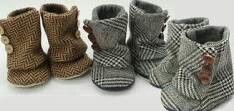 My kids will probably have a ton of shoes...they are my favorite baby item by far! So cute!