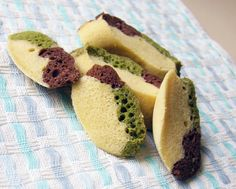 the indolent cook: chocolate matcha steamed egg cake