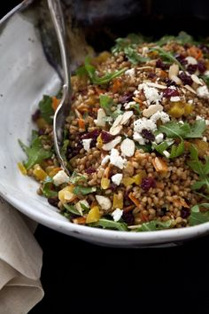 wheat berry on Pinterest | Wheat Berry Salad, Berries and Cranberries