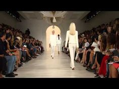Ralph Lauren Spring 2015 Collection Runway Show - YouTube