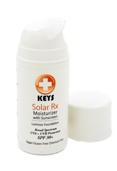 Sunscreen, anti-aging, rosacea treatments, BB creams, foundations, moisturizer and anti-redness product. Keys Solar Rx is all these in one product.