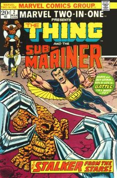 Marvel Two-in-One #2 The Thing and Sub-Mariner
