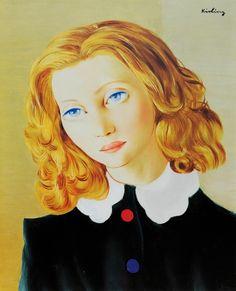Moise Kisling, Portrait on ArtStack #moise-kisling #art
